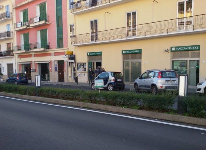 [ULTIM'ORA] Rapina in Banca a Paola. Banditi ancora in fuga