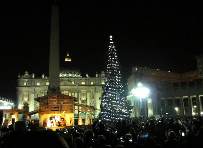 I bambini dell'Ospedale di Cosenza decorano l'Albero di Natale del Papa
