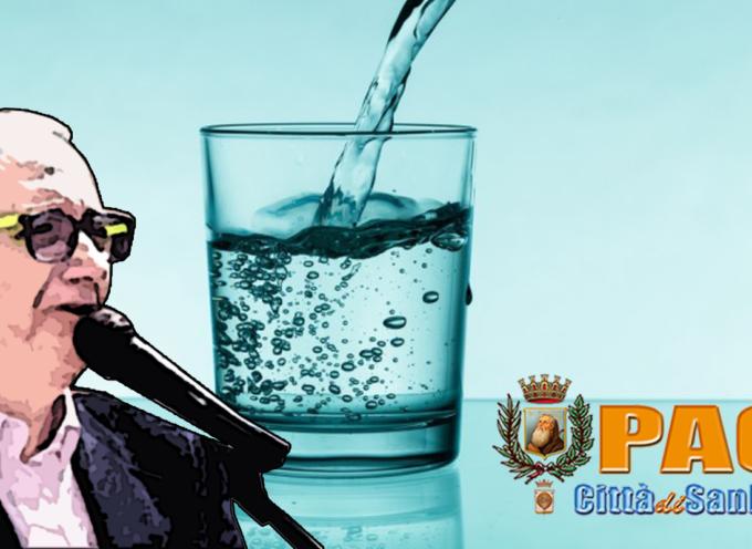 Cosmo De Matteis: «L'acqua a Paola ha dato vita a più cose»