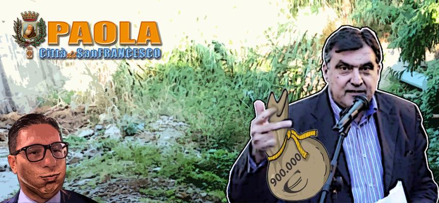[Paola] Arrivano i 900mila euro chiesti da Roberto Perrotta per i fiumi