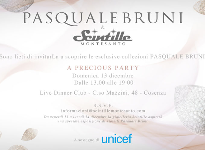 A precious party a Cosenza