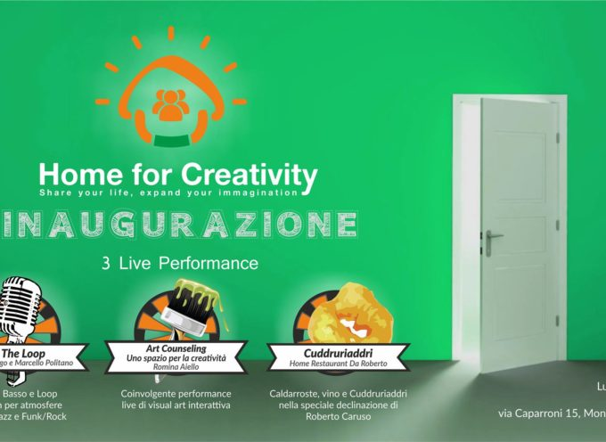Home for Creativity a Montalto dal 7 dicembre