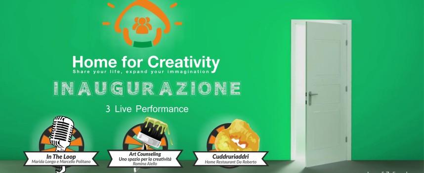 Home for Creativity a Montalto dal 7 dicembre