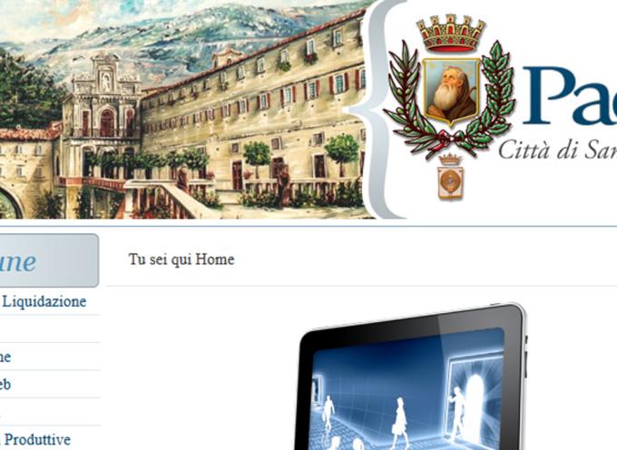Paola – L'amministrazione trasparente è ferma al 2013