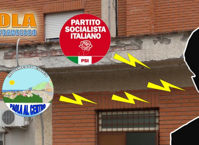Psi e PaolaAlCentro contro la gestione del responsabile UTC di Paola