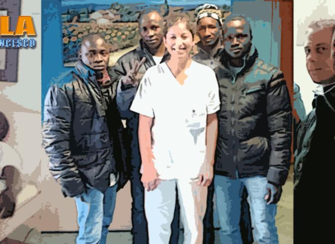 Paola – I Medici Volontari dell'Asmev Calabria hanno soccorso migranti