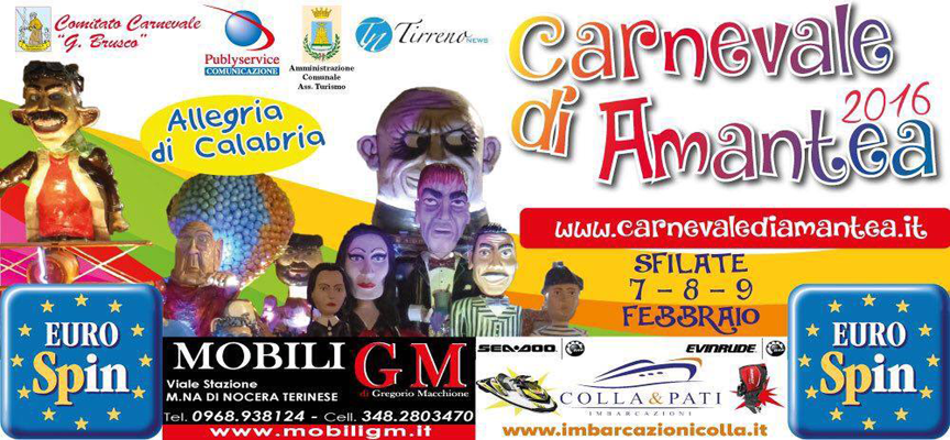 """Il Carnevale di Amantea quest'anno sarà  """" Allegria di Calabria """""""