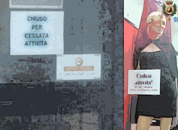 Paola – CRISI NERA su CORSO ROMA: chiude un'altra attività