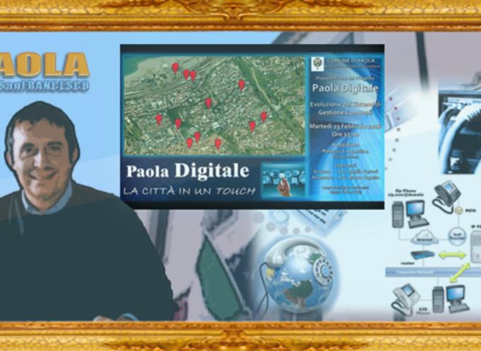 Paola – Oggi Marco Cupello farà cadere i veli dalla Città in un Touch