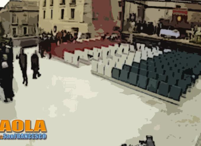 Paola – L'Anfiteatro su Largo 7 Canali è stato dedicato a Mauro Ganeri