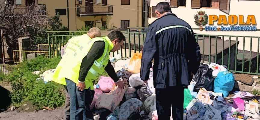 Paola – L'Anpana Oepa avvia la campagna contro abbandono rifiuti