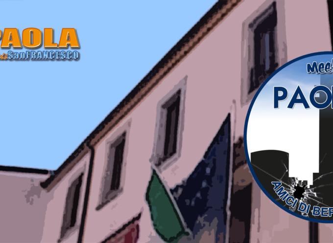 """Paola – I grillini propongono una ricetta """"universale"""" per il comune"""
