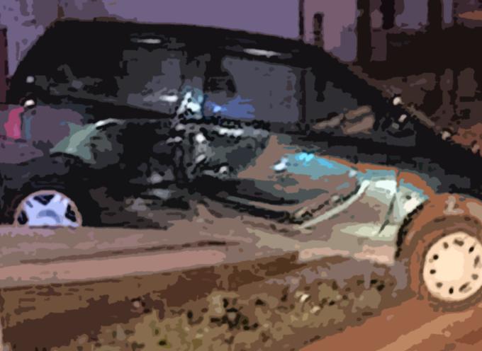 Brutto incidente a San Lucido – Foto