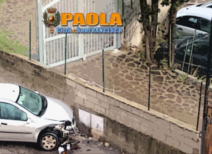 Paola – Brutto incidente a Via Nazionale – FOTO