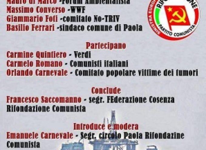 Paola. Pubblico incontro sul referendum del 17 aprile