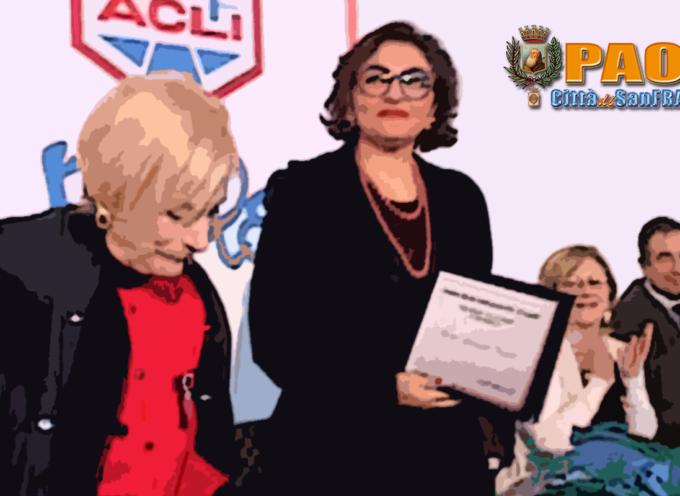 Paola – L'8 Marzo del Frassati premia Maria Antonietta Ventura – VIDEO
