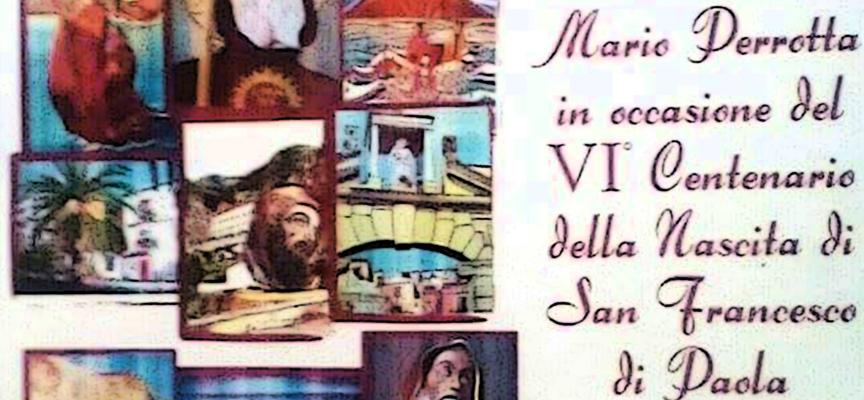 Paola – Il Perrotta pittore dedica la sua locandina al VI Centenario