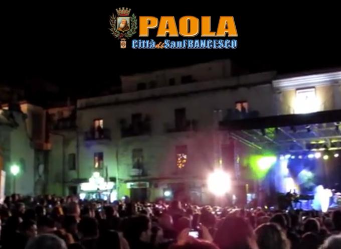 Paola – Più di 40 mesi per pagare il concerto 2014 di Giuliano Palma