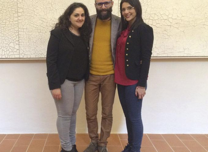 Francesca Ferraiuolo, Domenico Mendicino e Antonella Rocca in mostra a Bologna: