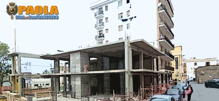 Paola – A Viale Mannarino c'è una struttura da demolire