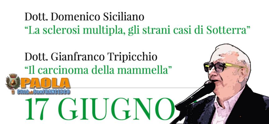"""Paola – Tumori su Tirreno. """"Stranezza"""" Sclerosi Multipla Sotterra"""