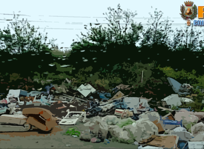Paola – Degrado sul suolo comunale, spunta discarica abusiva