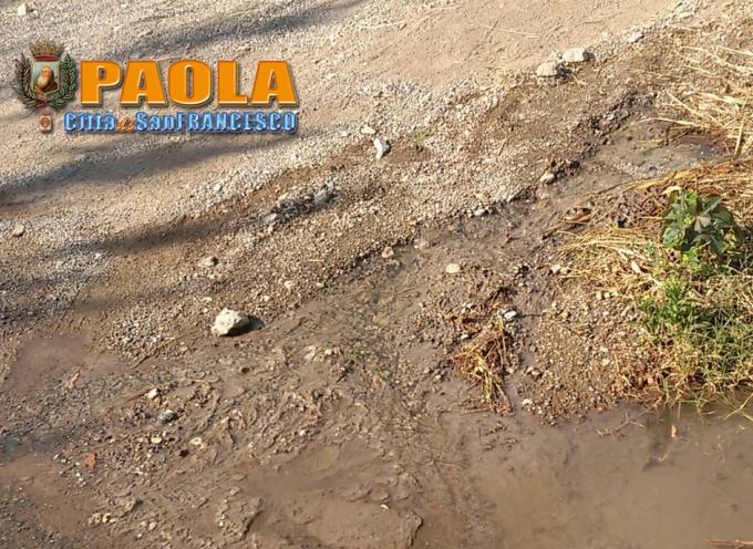 Paola – Via Sottopromintesta, strada davvero sfortunata