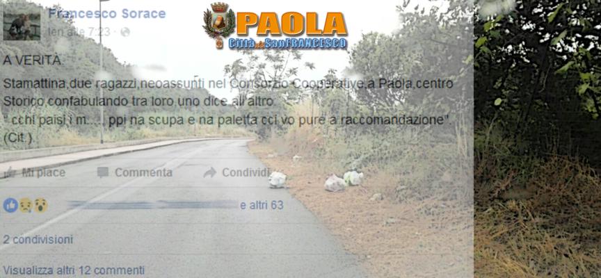 Paola – La situazione rifiuti evolve o involve? Aria di polemica?