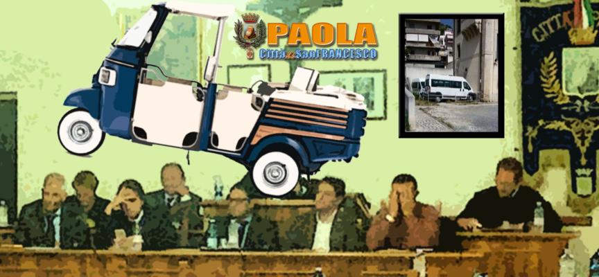 Paola – Per il VI Centenario un mezzo innovativo: l'Ape Calessino