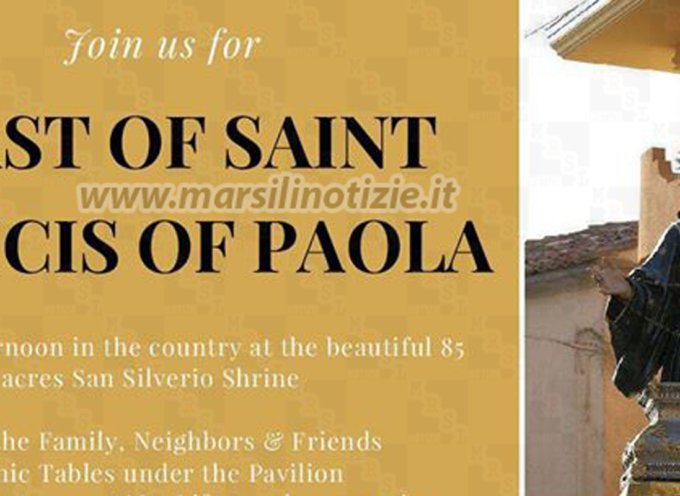 Paola nel Mondo – Domenica 7 Agosto si celebra S. Francesco a New York