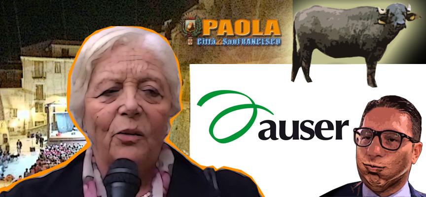 """Paola – """"Bufala Agostana"""". La Ganeri non regge il gioco a Basilio Ferrari"""