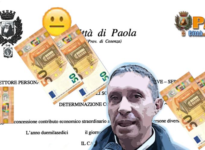 """Paola – Dall'assessore Marco Cupello, """"pioggerellina"""" di € a chi li ha chiesti"""