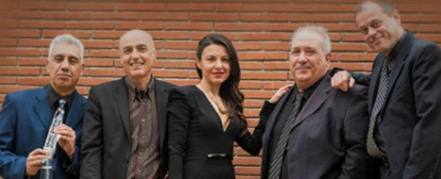 """Dal Parco della Musica i Roma Jazz 5et a Rossano con """"Mina"""""""