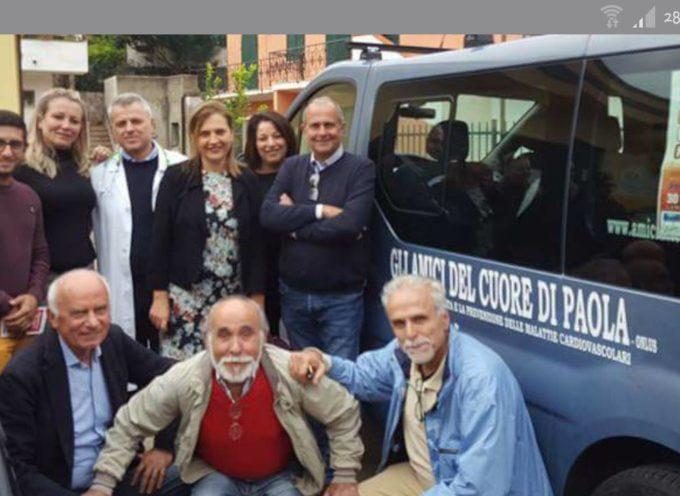 Paola – Gli Amici del Cuore regalano screening per prevenire la fibrillazione
