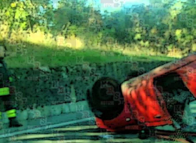 INCIDENTE ss107 – Macchina CAPOVOLTA tra San Fili e Rende