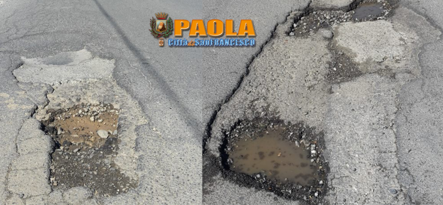 Paola – A due passi dal Lungomare c'è una strada che incute timori