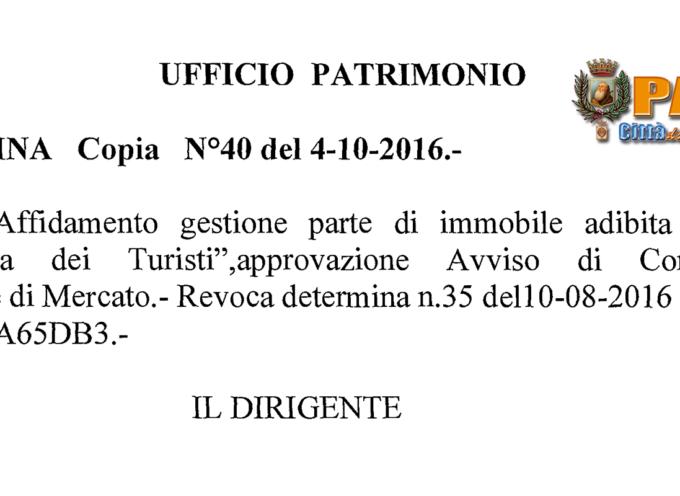 """Paola: Il Comune deve """"rimangiarsi"""" un affidamento. Dietrofront, rifare gara"""