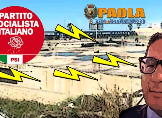Paola – I fondi persi per la struttura sul lungomare infiammano la polemica