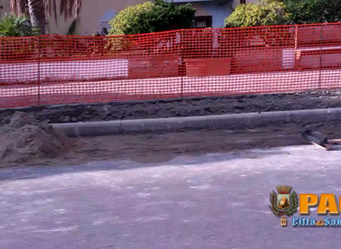 Paola – Marciapiede rotto e riassemblato a tempo di record sul waterfront