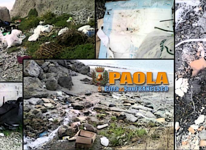 Paola – Degrado alla periferia Nord, tra tentativi di furto e siringhe nei rifiuti