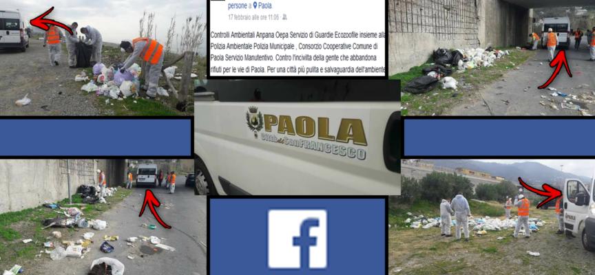"""Paola – Un minibus """"ex trasporto urbano"""" per fare bonifica dell'immondizia"""