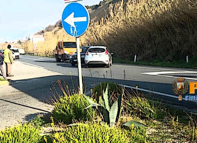Paola – Incidente al bivio nord con la SS18. Traffico rallentato