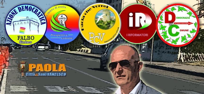 Paola: Tra un'ora Falbo presenta la candidatura dal Castello sul Lungomare