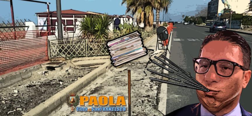 Paola – Basilio Ferrari attacca la stampa e conferma la fiera sul waterfront