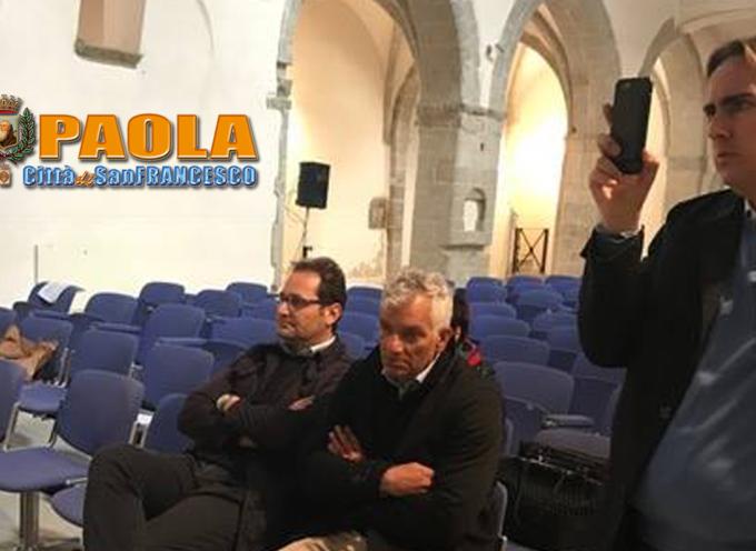 Paola – Lavori contenimento frana Ospedale: Basilio Ferrari annuncia avvio