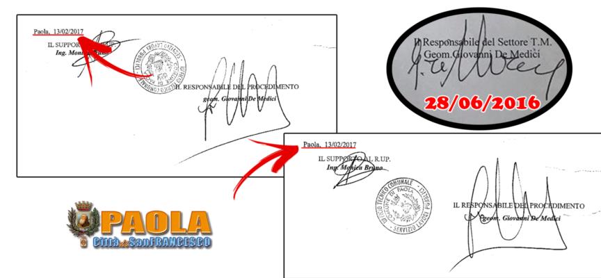 Paola – Dubbi sulle firme dell'atto per 7 Canali, interrogato il Segretario