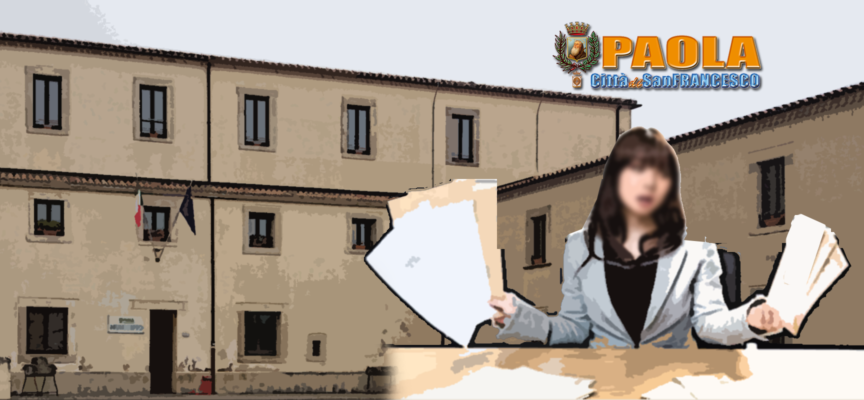 Paola – Assunta per decreto la nuova dipendente altamente professionale