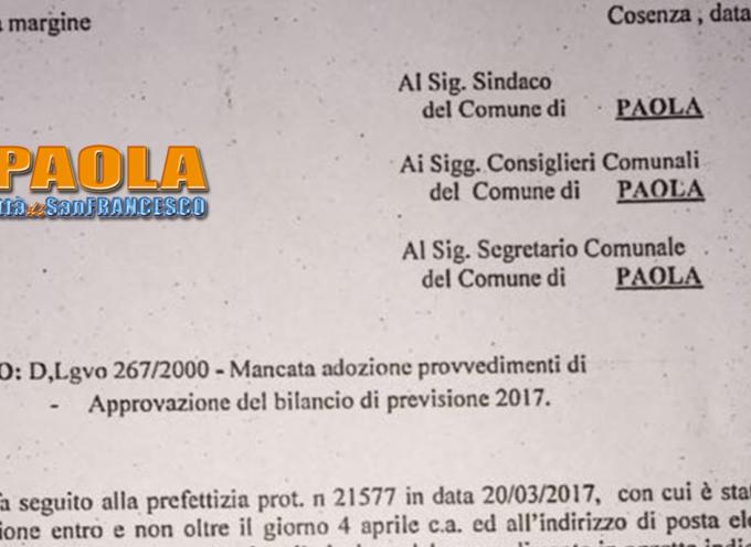 Paola – Il Prefetto diffida l'amministrazione. Psc e Piano Spiaggia a rischio?
