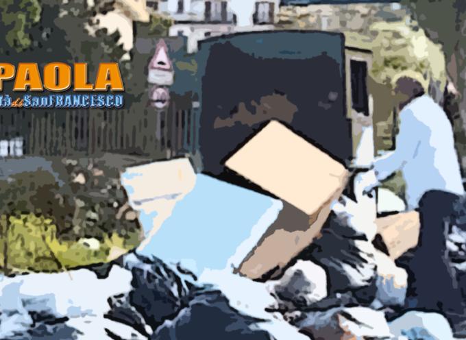 Paola – Fototrappole per sanzionare chi abbandona rifiuti, primi risultati