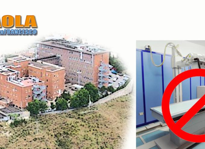 Paola – Si guasta il macchinario: per le radiografie rivolgersi a Cetraro